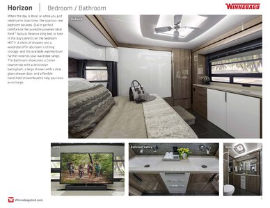 2019 Winnebago Horizon Brochure page 5
