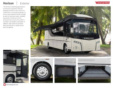2019 Winnebago Horizon Brochure page 7