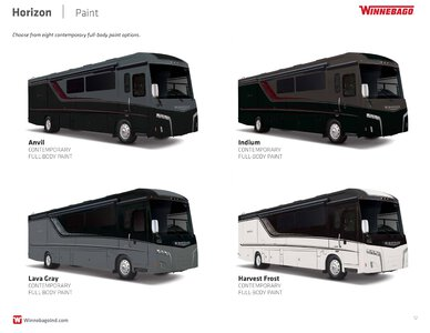 2019 Winnebago Horizon Brochure page 12