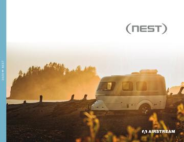 2020 Airstream Nest Traveil Trailer Brochure