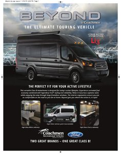 2020 Coachmen Beyond Brochure page 1