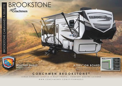 2020 Coachmen Brookstone French Brochure page 1