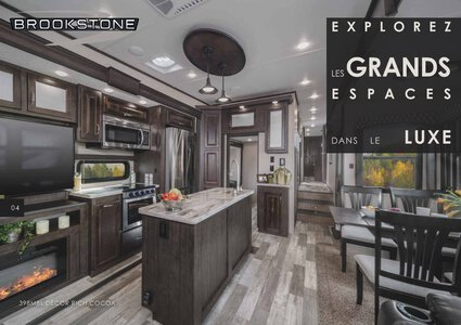 2020 Coachmen Brookstone French Brochure page 4