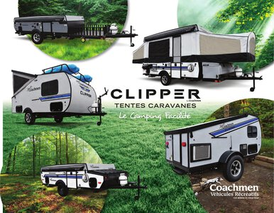 2020 Coachmen Clipper Camping Trailers French Brochure page 1
