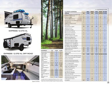 2020 Coachmen Clipper Camping Trailers French Brochure page 3