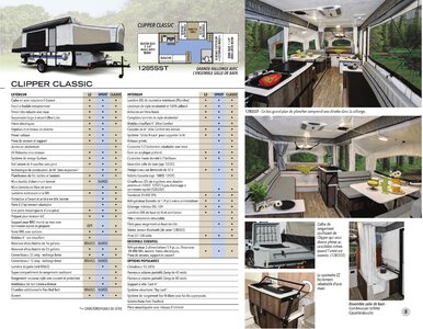 2020 Coachmen Clipper Camping Trailers French Brochure page 5
