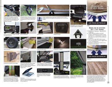 2020 Coachmen Clipper Camping Trailers French Brochure page 7