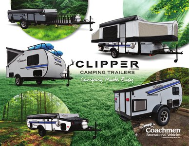 2020 Coachmen Clipper Camping Trailers Brochure page 1