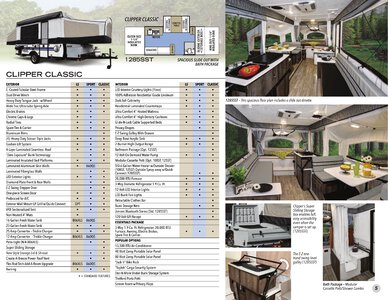 2020 Coachmen Clipper Camping Trailers Brochure page 5