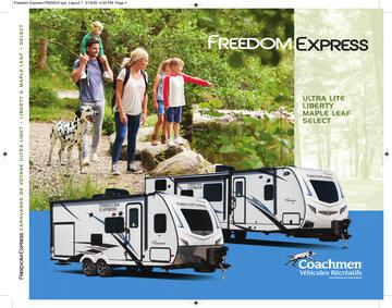 2020 Coachmen Freedom Express French Brochure