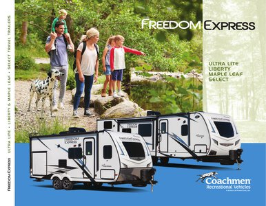 2020 Coachmen Freedom Express Brochure page 1