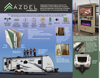 2020 Coachmen Freedom Express Brochure page 4