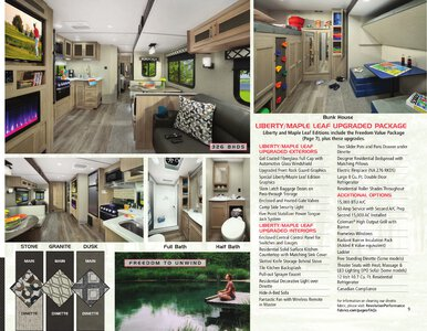 2020 Coachmen Freedom Express Brochure page 9