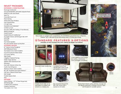 2020 Coachmen Freedom Express Brochure page 11