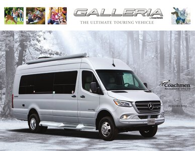 2020 Coachmen Galleria Brochure page 1