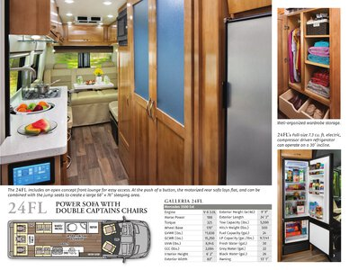 2020 Coachmen Galleria Brochure page 3