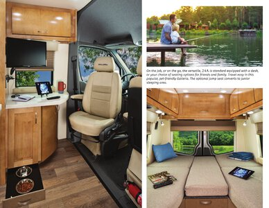 2020 Coachmen Galleria Brochure page 4