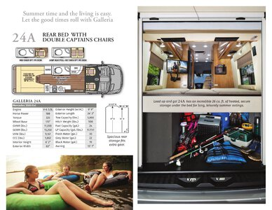 2020 Coachmen Galleria Brochure page 5