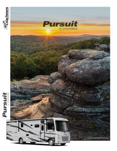 2020 Coachmen Pursuit Brochure page 1
