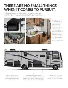2020 Coachmen Pursuit Brochure page 3