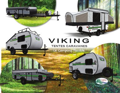 2020 Coachmen Viking Camping Trailers French Brochure page 1