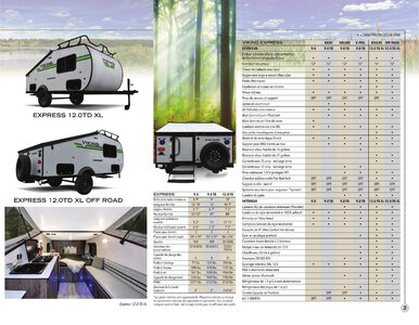2020 Coachmen Viking Camping Trailers French Brochure page 3
