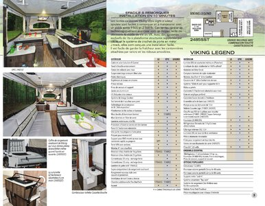 2020 Coachmen Viking Camping Trailers French Brochure page 5