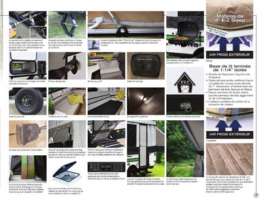 2020 Coachmen Viking Camping Trailers French Brochure page 7