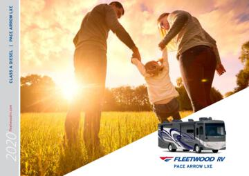 2020 Fleetwood Pace Arrow LXE Brochure