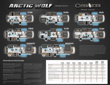 2020 Forest River Arctic Wolf French Brochure