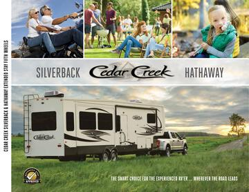 2020 Forest River Cedar Creek Silverback Edition Brochure