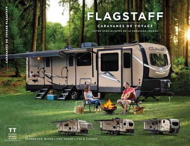 2020 Forest River Flagstaff Travel Trailers French Brochure page 1