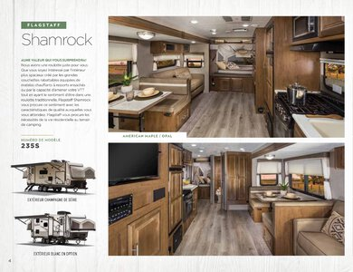2020 Forest River Flagstaff Travel Trailers French Brochure page 4