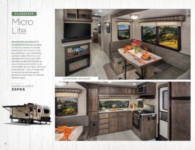 2020 Forest River Flagstaff Travel Trailers French Brochure page 8
