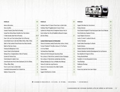 2020 Forest River Flagstaff Travel Trailers French Brochure page 15