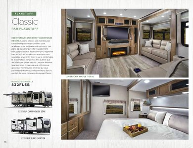 2020 Forest River Flagstaff Travel Trailers French Brochure page 16