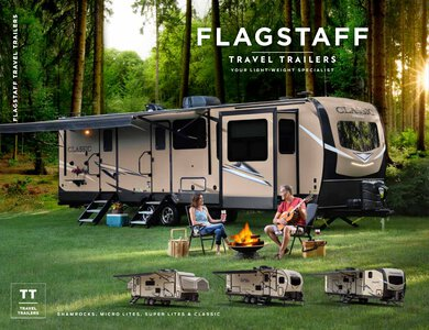 2020 Forest River Flagstaff Travel Trailers Brochure page 1