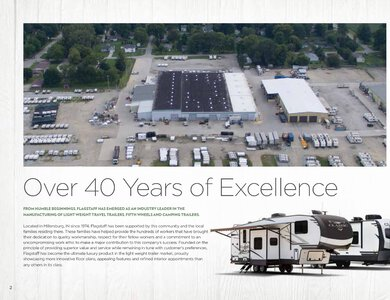 2020 Forest River Flagstaff Travel Trailers Brochure page 2