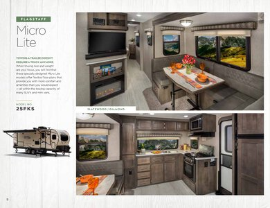 2020 Forest River Flagstaff Travel Trailers Brochure page 8