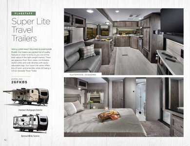 2020 Forest River Flagstaff Travel Trailers Brochure page 12