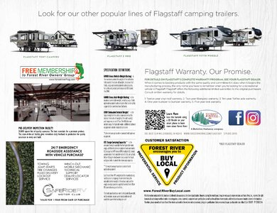 2020 Forest River Flagstaff Travel Trailers Brochure page 24