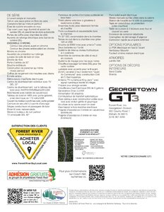 2020 Forest River Georgetown 3 Series GT3 French Brochure page 2