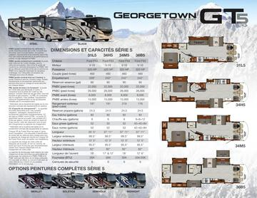 2020 Forest River Georgetown 5 Series GT5 French Brochure