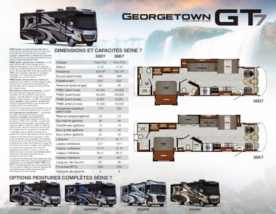 2020 Forest River Georgetown 7 Series GT7 French Brochure page 1