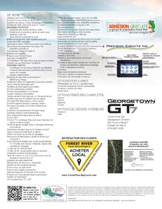 2020 Forest River Georgetown 7 Series GT7 French Brochure page 2