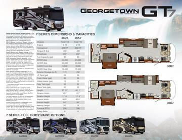 2020 Forest River Georgetown 7 Series GT7 Brochure