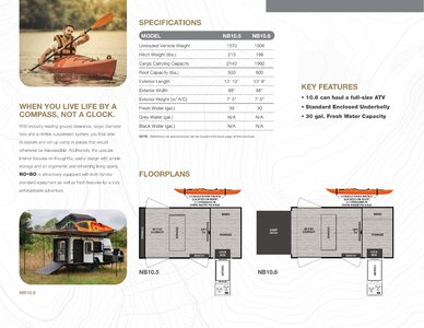 2020 Forest River No Boundaries Brochure page 4