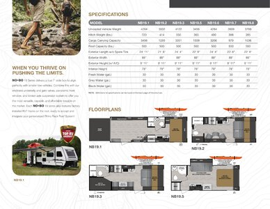 2020 Forest River No Boundaries Brochure page 8
