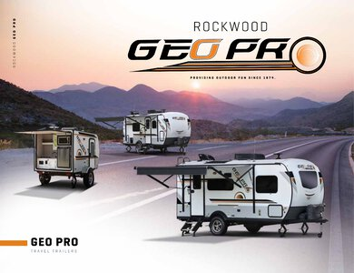 2020 Forest River Rockwood Geo Pro Brochure page 1