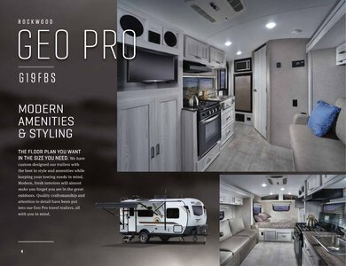 2020 Forest River Rockwood Geo Pro Brochure page 4